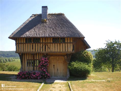 a thatched oak frame town in grimbouville