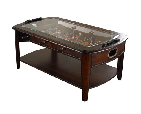 foosball coffee table room sports arcade soccer