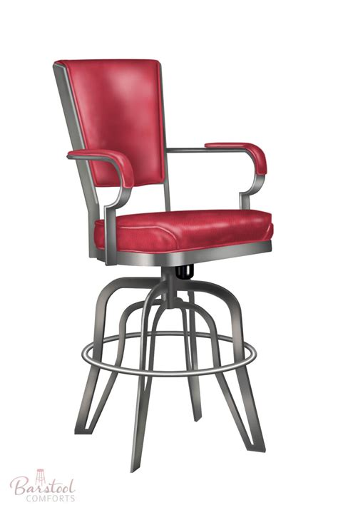 Metal Bar Stools With Arms by Bar Stools With Armrest Home Design Ideas