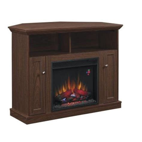Hton Bay Electric Fireplace Reviews by Hton Bay Charles Mill 46 In Convertible Media Console