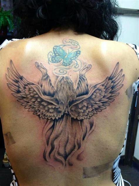 tattoo angel butterfly angel butterfly angels wings pinterest