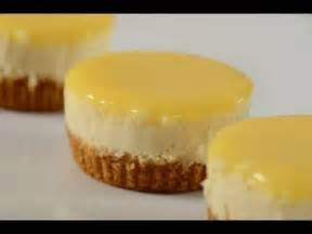 lemon cheesecakes recipe demonstration joyofbaking com youtube
