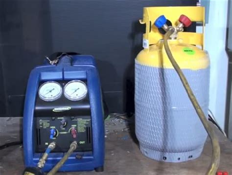 freon uses how to use a refrigerant recovery machine hvac how to