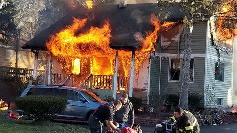 six transported to hospital after lisle house