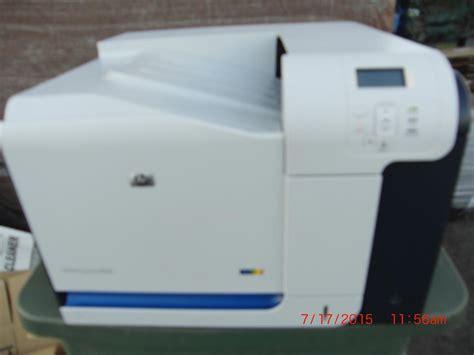 hp color laserjet cp3525 hp color laserjet cp3525 pr 262628 for sale used