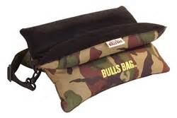 bulls bag bench rest bulls bag 15 quot unfilled bench shooting rest camo suede