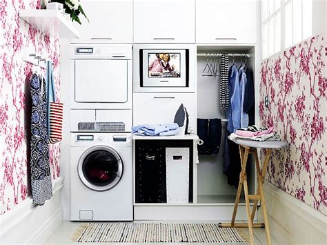 brilliantly clever laundry room design ideas