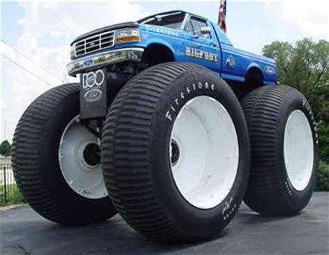 bigfoot monster truck st louis weird world records neatorama