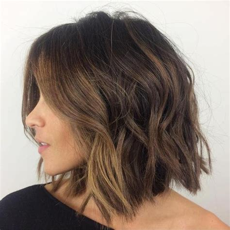 long bob thin hair heavy woman 25 best ideas about messy bob hairstyles on pinterest