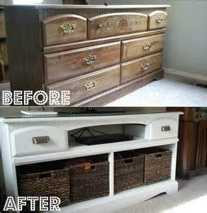 meuble en bois repeint avant apres 6 bricobistro