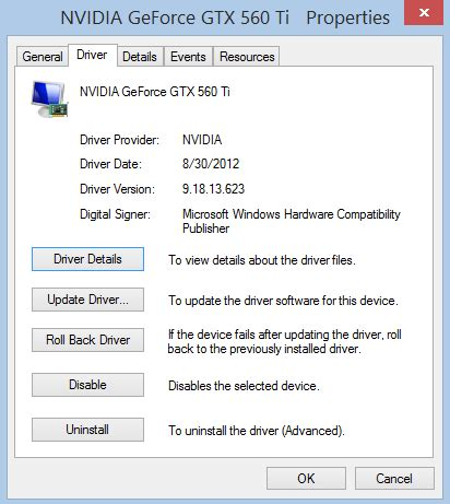 nvidia driver problems windows 8 nvidia multiple displays crashing in windows 8 or after