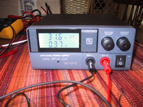 bench power supply review review mpja 9615 0 30 volt 0 3 amp bench power supply