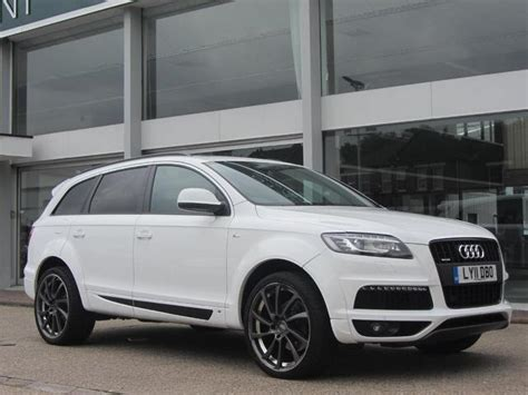 audi 4x4 for sale used white audi q7 2011 diesel 3 0 tdi clean 4x4 in great
