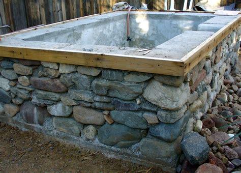 Concrete Bathtub Diy by Concrete And Tub Patio Ideas