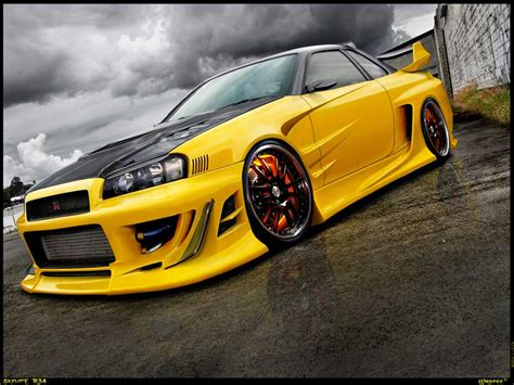 nissan skyline modified nissan skyline gt r japanese beast