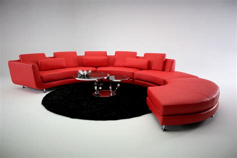 Modern Contemporary Circle Sectional Sofa Sectional Sofa Contemporary