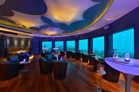 Subsix at Niyama, Dhaalu Atoll Underwater restaurants and clubs in the Maldives (Condé Nast