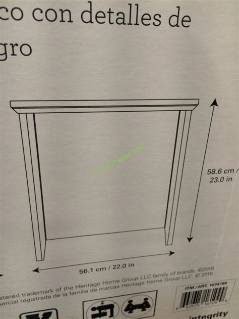 broyhill chairside table costco costco 1074780 broyhill chairside table size1 costcochaser