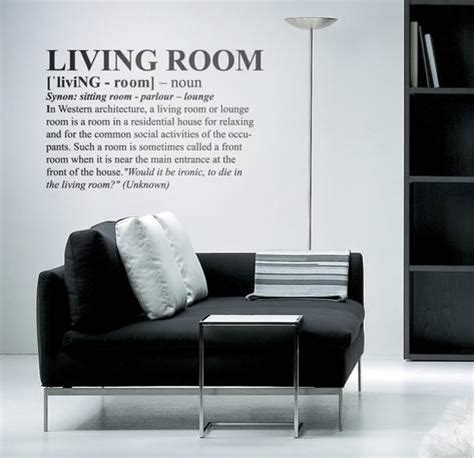 Meaning Of Living Room In A Definition Living Room Medium Wall Decal Allposters Co Uk