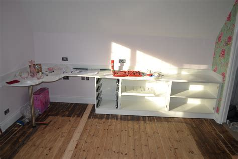 Diy Bedroom Desk Stylish Bedroom With Gloss White Cabinet And Custom Made
