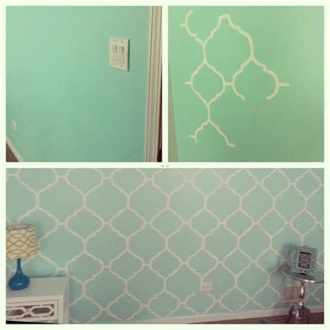 mint green bedroom walls my mint green bedroom accent wall freehand painting room pinterest wall ideas mint