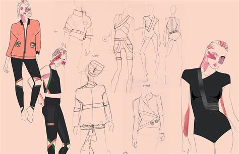 Fashion Design Apprenticeships | reebok apprentice project studio on scad portfolios