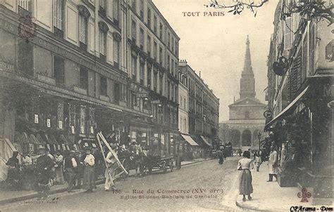 rue du commerce si鑒e social rue du commerce xve arr cartes postales