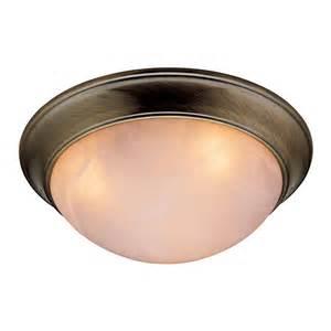 lowes lighting fixtures bathroom dome flushmount light