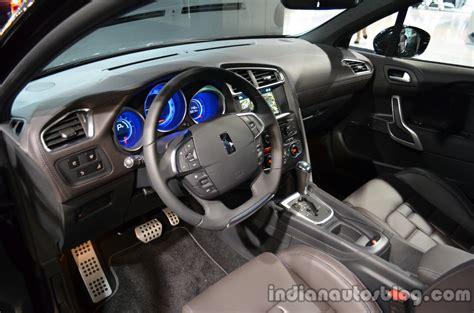 citroen ds4 interior citroen ds4 interior indian autos