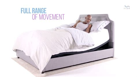 the rize summit adjustable bed