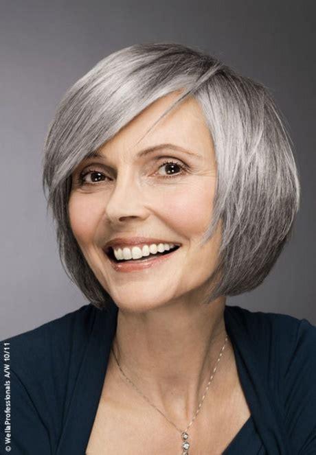frisuren fuer graue haare