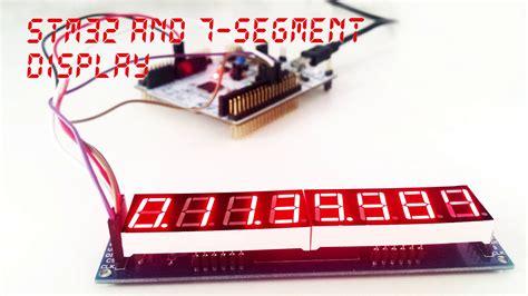 segment display  stm  chibios play embedded