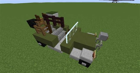 minecraft army jeep jeep willys mb minecraft project