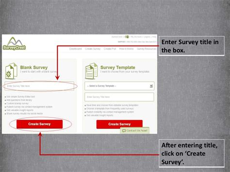 Create Your Survey - how to survey create your survey form within 5 minutes