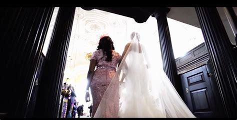 'The Greatest Bridal Entrance' In The World .Simply
