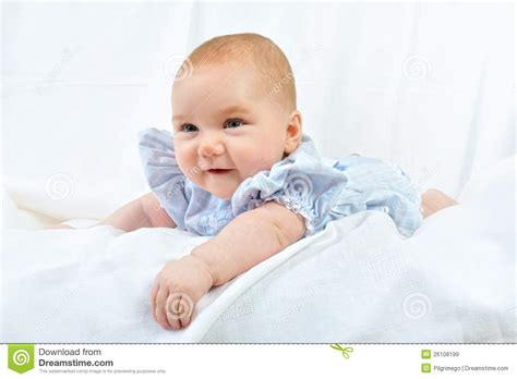 baby 4 months royalty free portrait of the pretty white 4 months baby royalty free stock images image 26108199