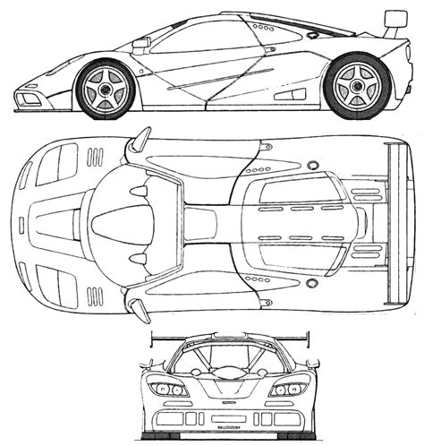 mclaren f1 drawing car mclaren f1 lm the photo thumbnail image of figure
