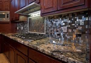 Kitchen With Stainless Steel Backsplash Stainless Steel Backsplash 2