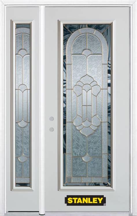 Stanley Exterior Doors Stanley Exterior Doors Stanley Doors 36 Inch X 80 Inch Geometric Patina Fan Lite 4 Panel 2