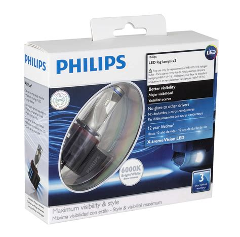 lade h7 philips x tremevision led fog l 78719719 philips