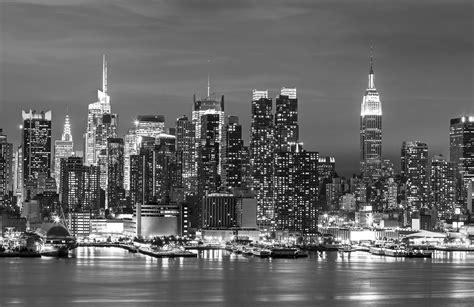 black and white wallpaper of new york new york landscape wall mural muralswallpaper co uk
