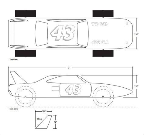 pinewood derby race car templates pinewood derby car templates printable autos post