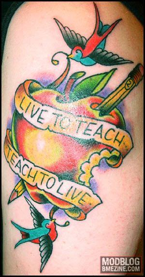 teacher tattoos best 25 tattoos ideas on teachers