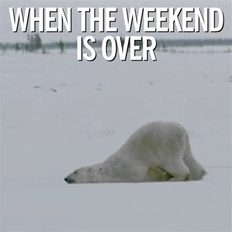 when the weekend is