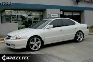 custom acura with wheels tl s 2002 acura tl tsw rivage