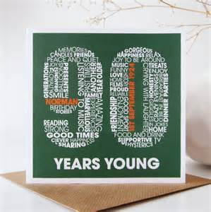 personalised 90th birthday card by mrs l cards notonthehighstreet