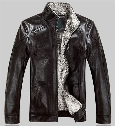 leather motorcycle jacket brands winter warm motorcycle leather jacket men s casual