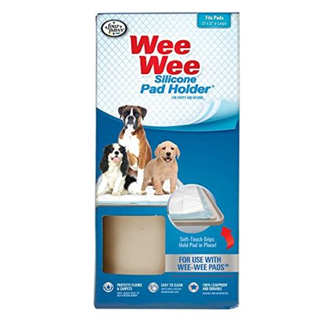 dog wee in house four paws wee wee silicone dog house breaking pad holder new free shipping
