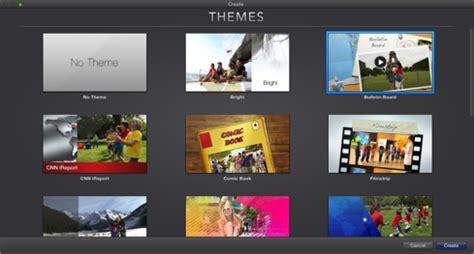 new themes imovie imovie 2013 create a new movie