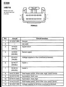 I am looking for a seat wiring diagram for a 02 03